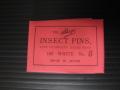 有頭シガ昆虫針 5号 標本針(最上質ステンレス製) 1包(100本入)