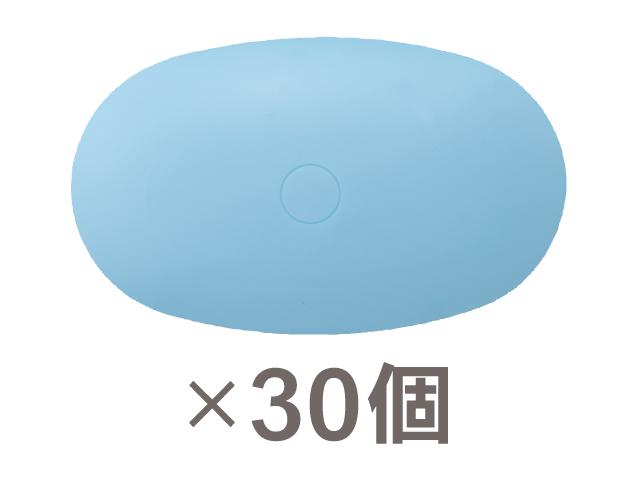 130g楕円型 ブルー 30個 TCS-B30