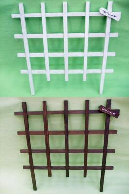 木製デコレーショントレリス