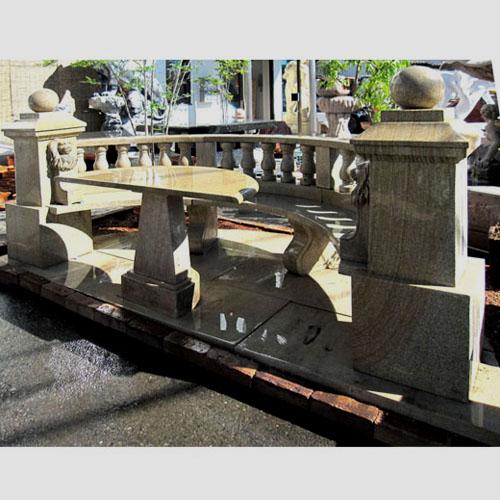 彫刻 テーブル ベンチ