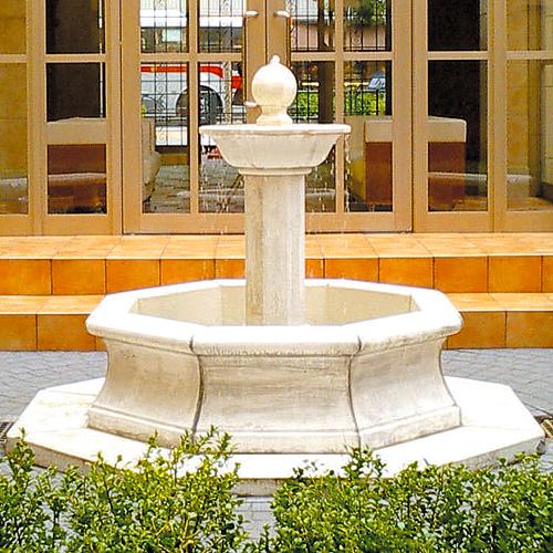 イタリア製噴水 マーシグリアMARSIGLIA(循環ポンプ付) 噴水でお庭を演出 【※商品番号:m-fo0225】