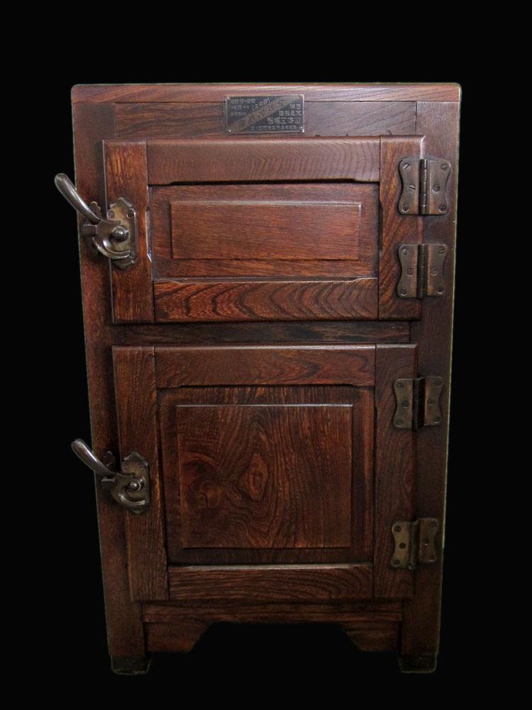 木製 冷蔵庫