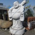 天然御影石彫刻 七福神 布袋様 【商品番号:m-0045】