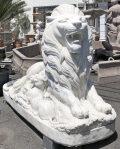 大理石 ライオン