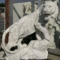 天然大理石彫刻 トラ 【商品番号:m-0056】