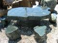 青石テーブル