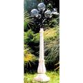 庭園灯3灯 イタリア製ガーデンライト 【※商品番号:m-la0912-1】