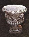 ライオン 花鉢