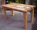 流木テーブル