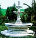 イタリア製大型噴水 アラッシオALASSIO(循環ポンプ付) 噴水でお庭を演出 【※商品番号:m-fo0201】