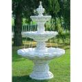 噴水 アルベンガ三段噴水(循環ポンプ付) イタリア製 噴水でお庭を演出 【※商品番号:m-fo2681】