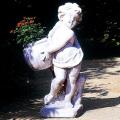 イタリア製子供像(ガーデン オーナメント) アンジェリコ(右)ANGELICO DX 【※商品番号:m-pu0147】