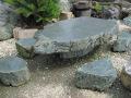 天然青石 テーブル・イス