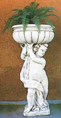 花鉢と少年