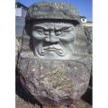 達磨 天然石 彫刻 御影石 庭園 置物 オブジェ 和風 庭 日本庭園