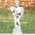 イタリア製子供像(ガーデン オーナメント・石像) エンゼル(キューピット) 【※商品番号:m-pu8004】