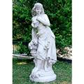 イタリア製石像(ガーデン オーナメント) エレナ 【※商品番号:m-st5601】