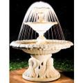 イタリア製噴水 フーミチノFIUMICINO(循環ポンプ付) 噴水でお庭を演出 【※商品番号:m-ff1011】