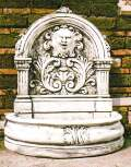 ライオンアーチ壁泉