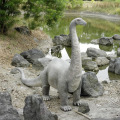 恐竜ブロントサウルス