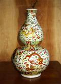 景徳鎮 骨董 花瓶