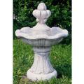 イタリア製小型噴水 カプリ(循環ポンプ付) 噴水でお庭を演出 【※商品番号:m-fo6002】