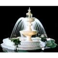イタリア製大型噴水 メッシーナMESSINA(循環ポンプ付) 噴水でお庭を演出 【※商品番号:m-ff1024】