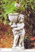 花鉢の少年