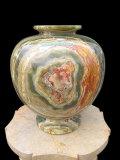 オニックス 飾り壺