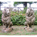 ライオン石像