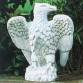 イタリア製動物像 海辺の鷲(左)AQUILA MARINA SX