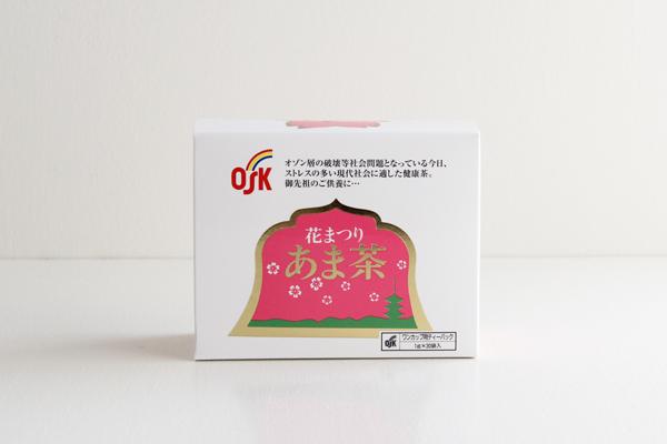 OSK 花まつり あま茶 ティーバッグ ひも付 1g×30袋