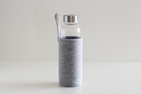キャリーティーボトル 茶こし付き ガラスタンブラー