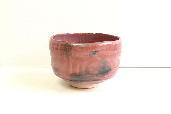 茶碗 赤楽 松楽窯