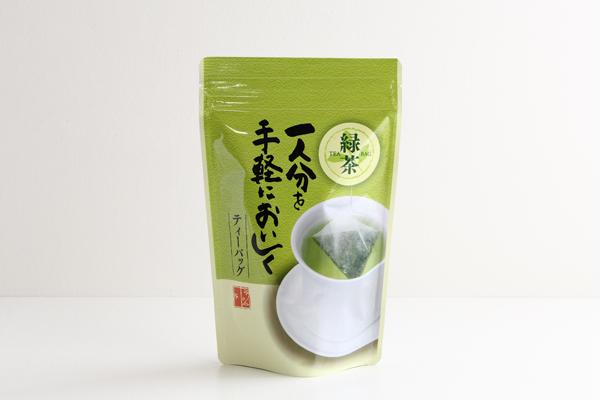 ワンカップ 煎茶 三角ティーバッグ ひも付 2g×25袋