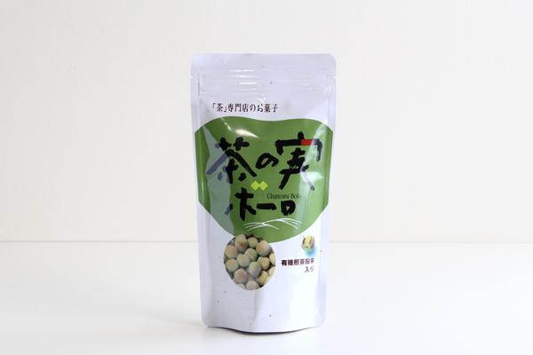 有機煎茶粉末入り 茶の実ボーロ 100g