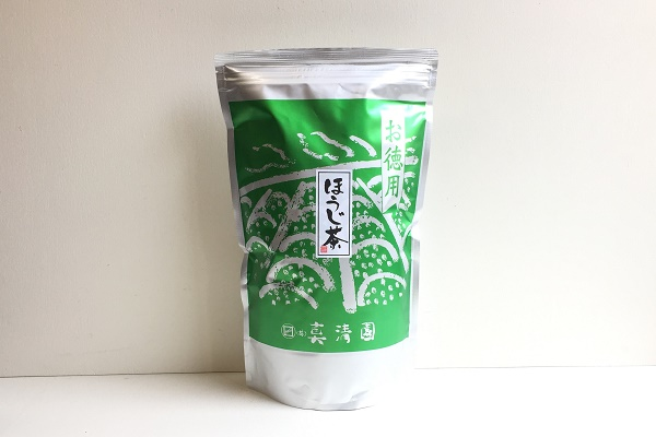 お徳用ほうじ番茶 静岡・鹿児島産四番茶使用 業務用サイズ 500g