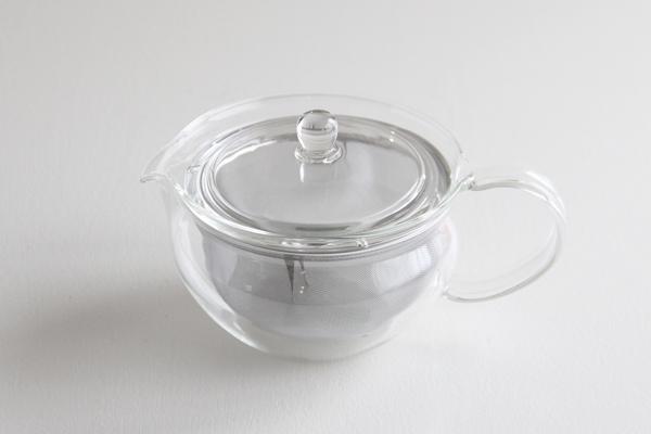 茶茶急須 ふかみ 耐熱ガラス 450ml HARIO (ハリオ)