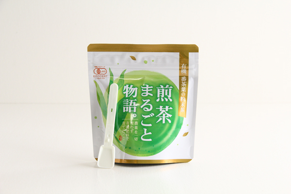 有機粉末煎茶 煎茶まるごと物語 40g