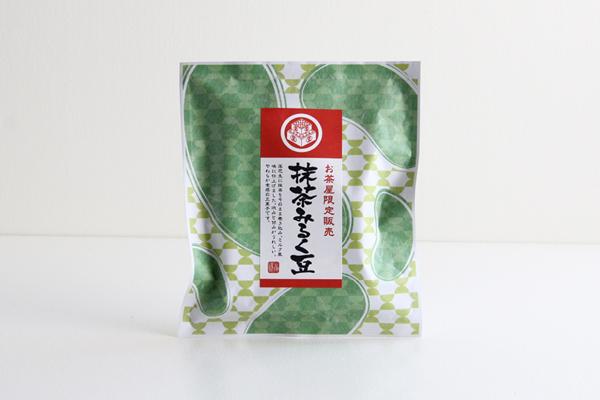 抹茶みるく豆 豆菓子 80g