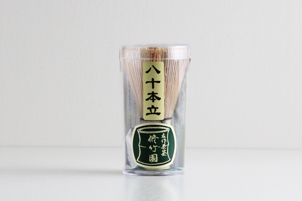 中国産 茶筅 80本立 修竹園