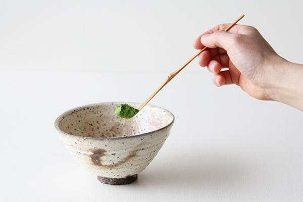 茶杓 中節