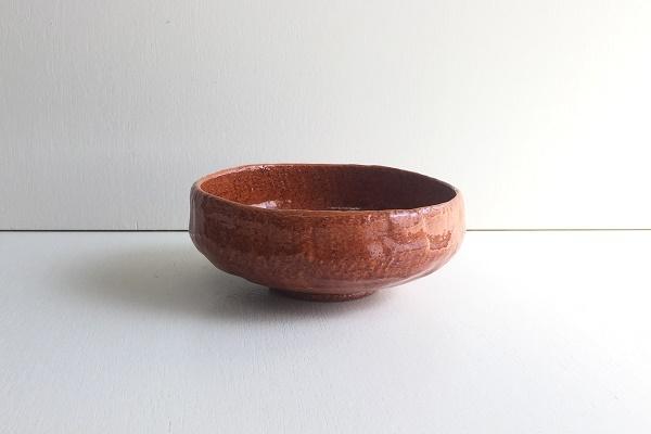 場盥茶碗 飴楽 松楽窯