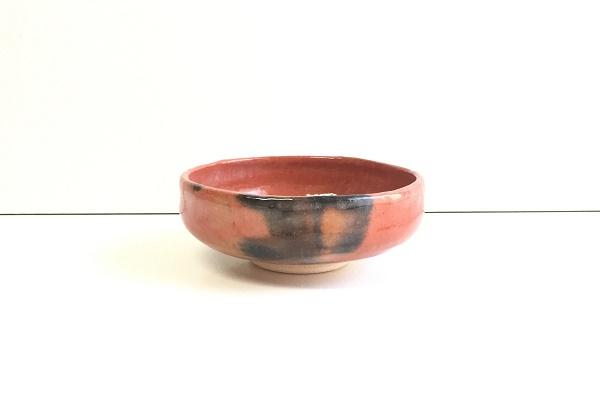 場盥茶碗 赤楽 松楽窯