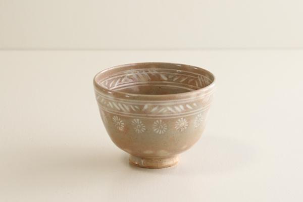 茶碗 赤三島 中村与平作