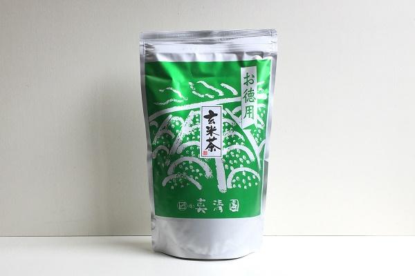 お徳用 玄米茶 800g