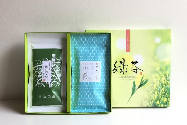 日本茶100g 2本組ギフト 袋入り