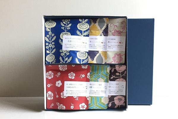 日本茶ティーバッグ 3g×5袋 6本組ギフト