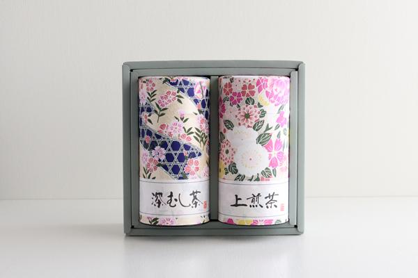 日本茶ギフト 缶入り