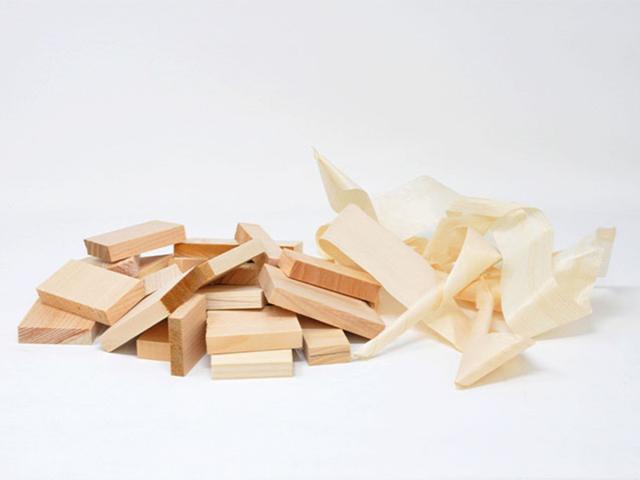 ヒノキの木端材3